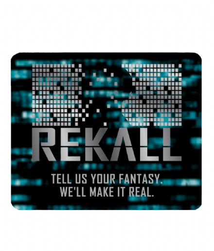 Rekall Fictional Future Tech Company from Total Recall PC Laptop Computer Mouse Mat